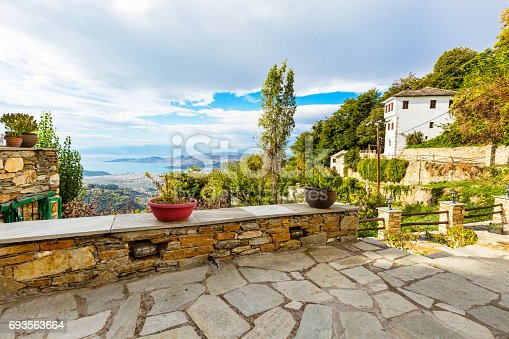 istock Volos city view from Pelion mount, Greece 693563664