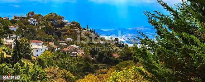 istock Volos city view from Pelion mount, Greece 998297142