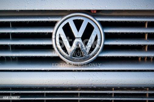 istock Volskwagen logo 458126657