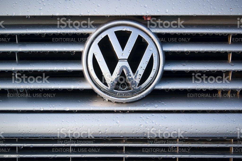 Volskwagen logo stock photo