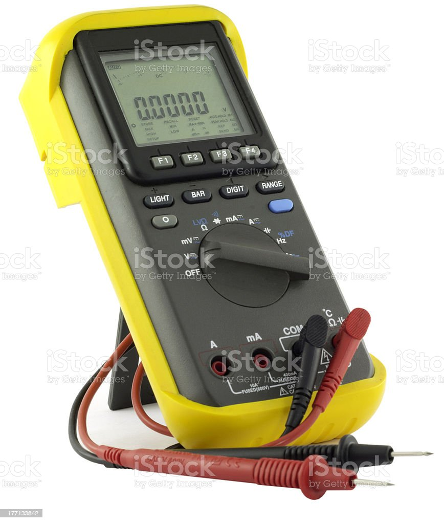 volt  meter royalty-free stock photo