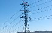 380,000 volt power transmission line