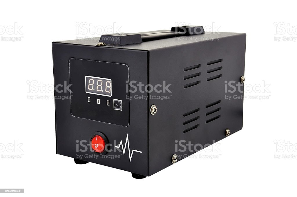 voltage regulator royalty-free stock photo