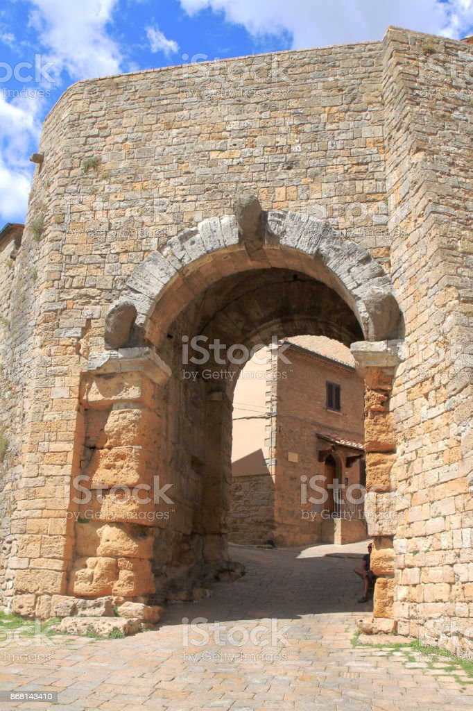 Volterra - Tuscany - Italy stock photo
