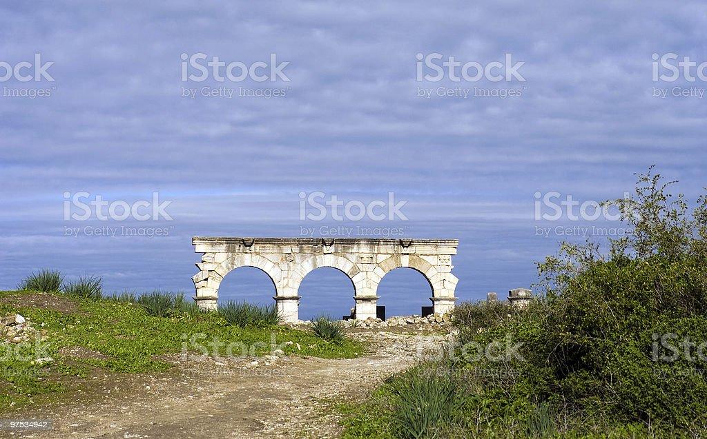Volubilis royalty-free stock photo