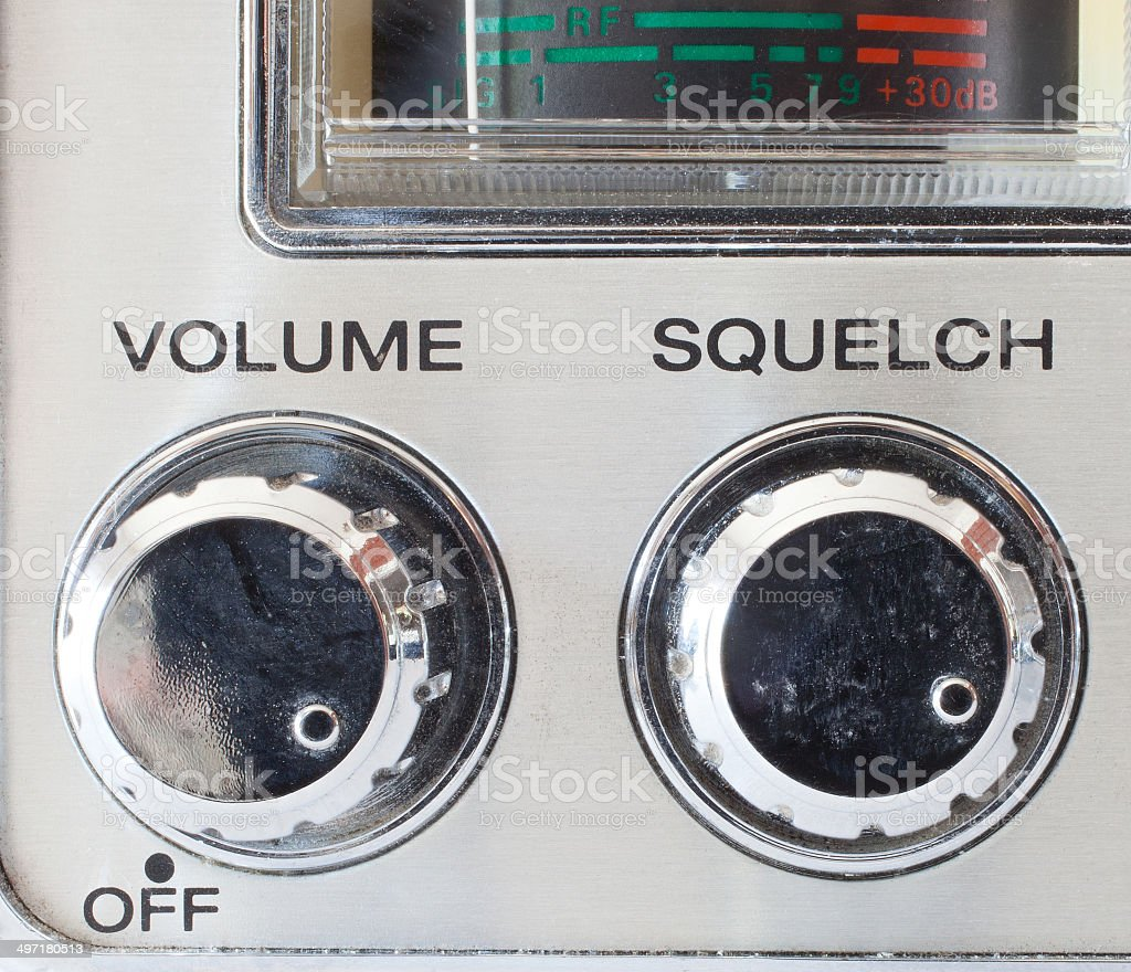 Volume control stock photo