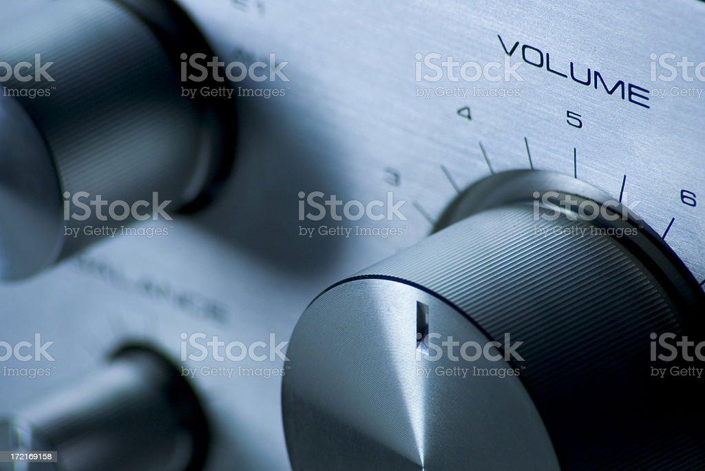 Volume Knob stock photo