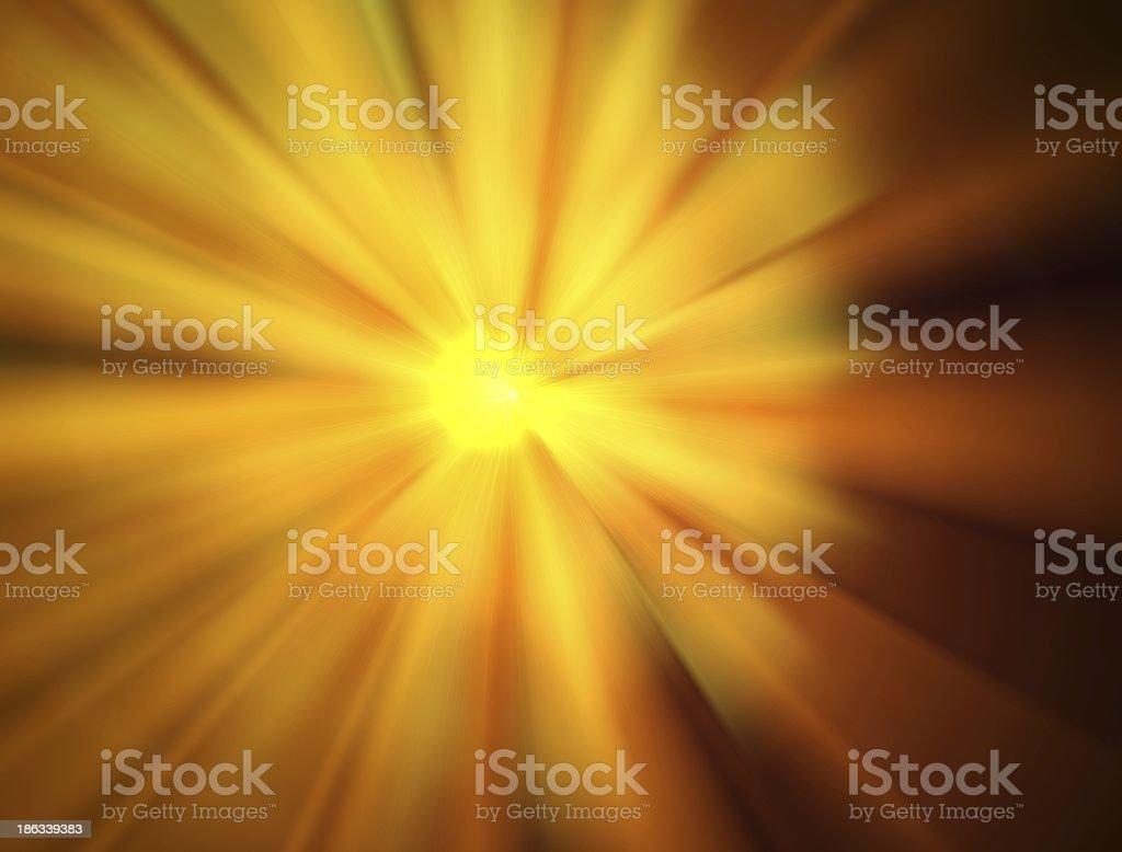 Volume light effects stock photo