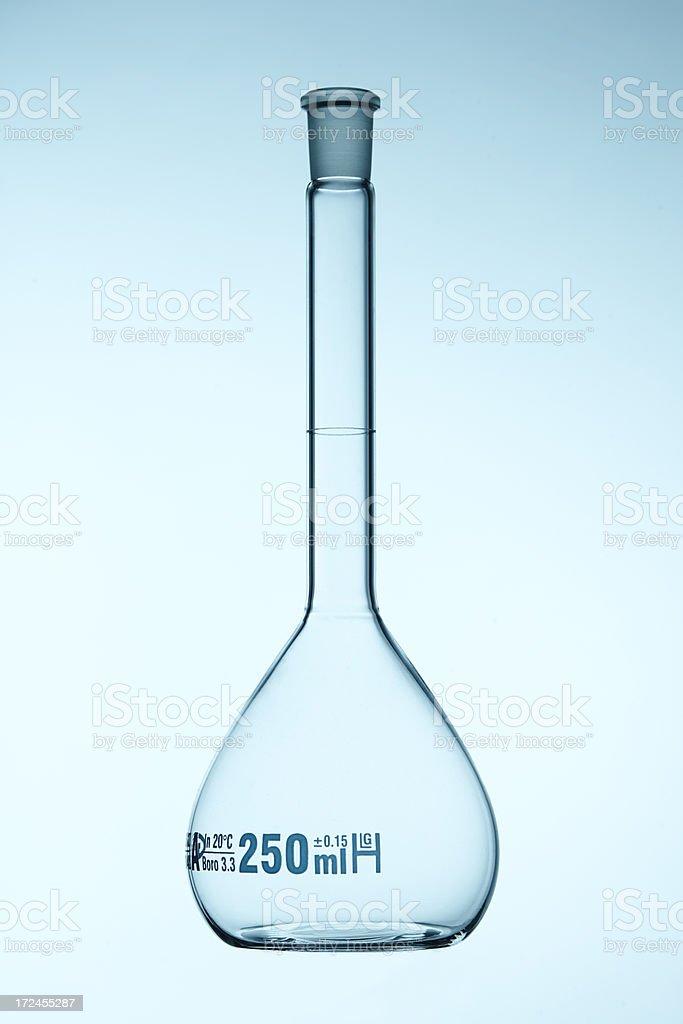 Volumetric flask royalty-free stock photo