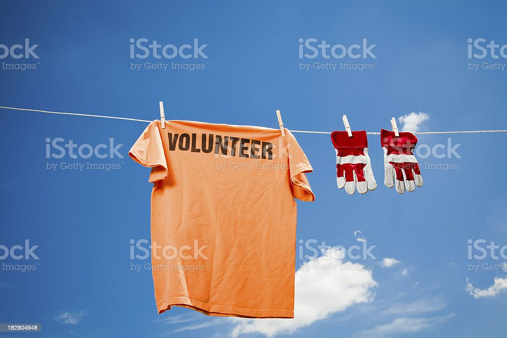 Volunteer Concept royalty-free stock photo