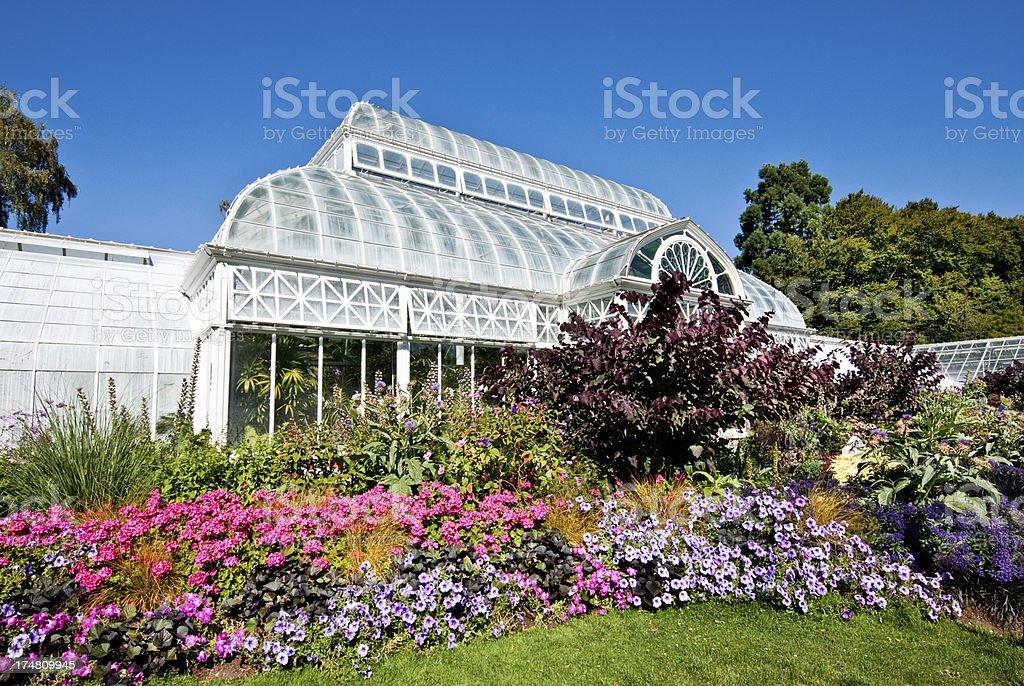 Volunteer Park Conservatory royalty-free stock photo