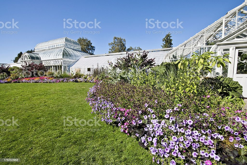 Volunteer Park Conservatory royalty-free stock photo