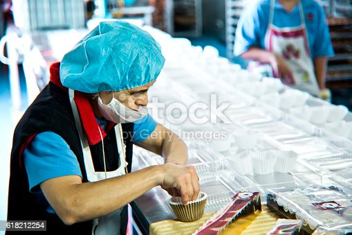 594475880istockphoto Volunteer with intelectual disability working at Bakery Workshop 618212254