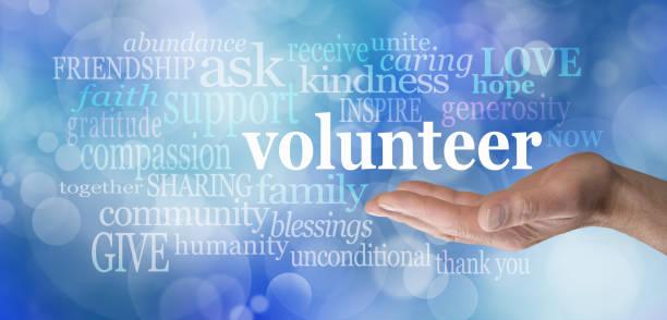 volunteers needed word cloud - volunteer stock photos and pictures