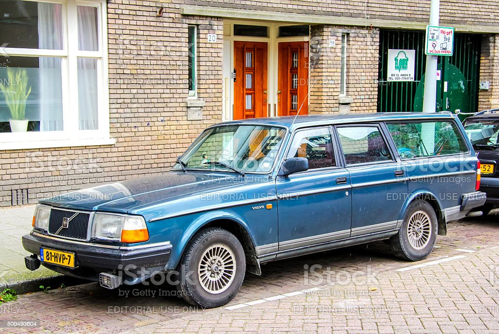 Volvo 200-series stock photo