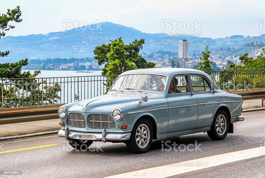 Volvo Amazon stock photo