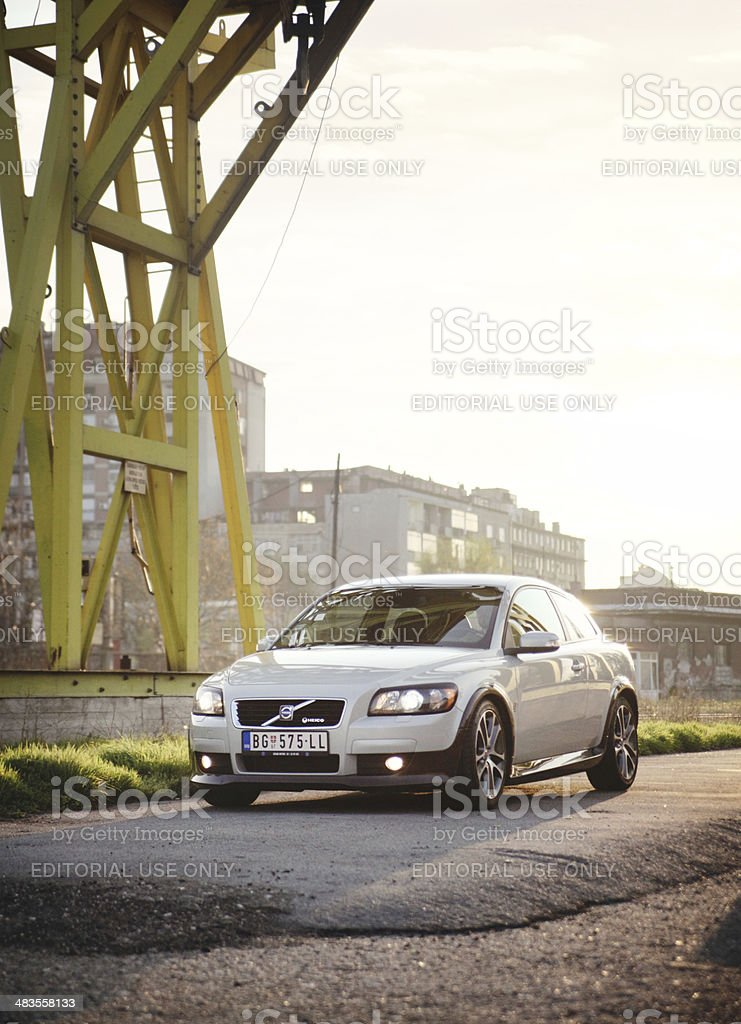 Volvo C30 tuning by Heico Sportiv royalty-free stock photo