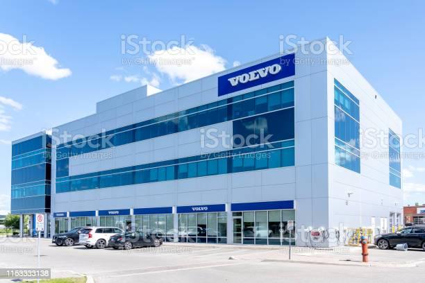 Volvo Bil Canada Huvud Kontor I Richmond Hill Ontario Kanada-foton och fler bilder på Bil