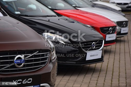 133277230 istock photo Volvo cars in a row 516216458