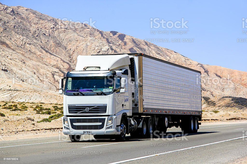 Volvo FH12 stock photo