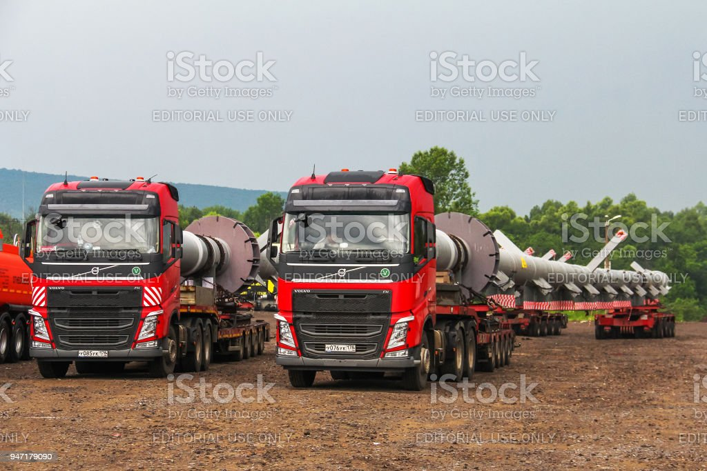 Volvo FH16 stock photo