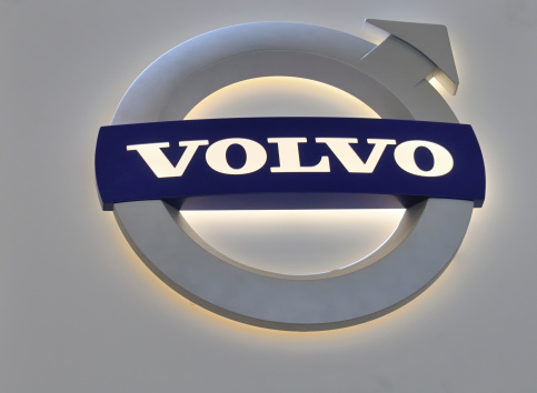 Volvo Logo Stock Photo - Download Image Now