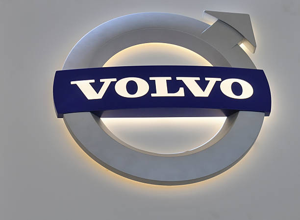 Volvo Logo - foto stock