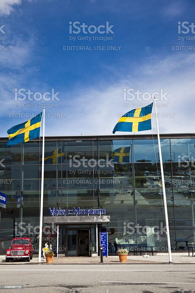 Volvo museum Gothenburg Sweden stock photo