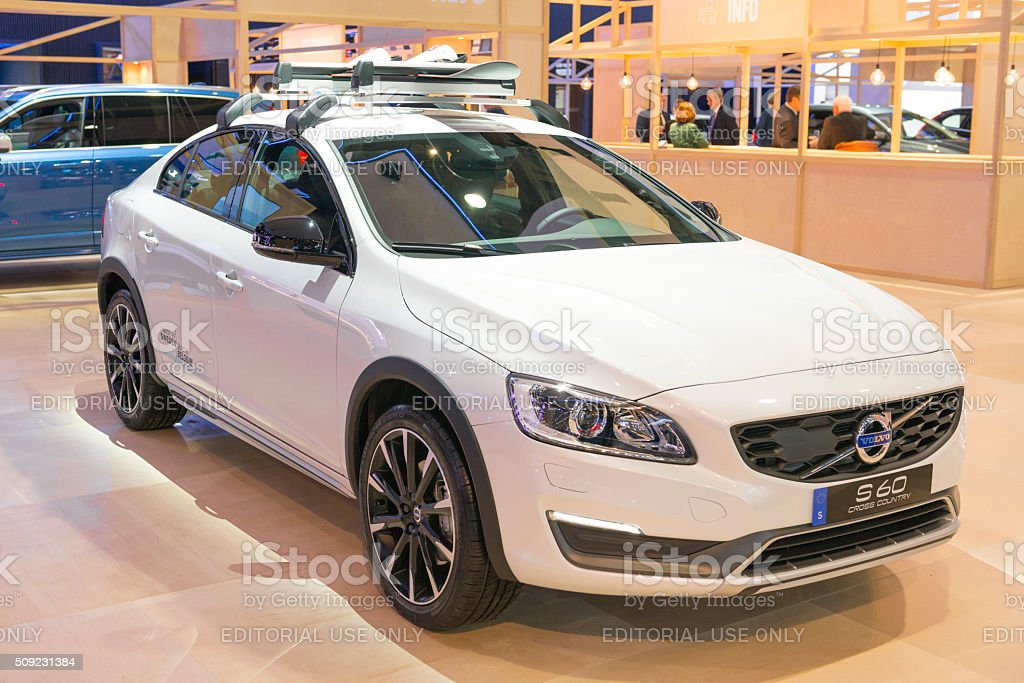Volvo S60 Cross Country >> Volvo S60 Cross Country Sedan Stock Photo Download Image
