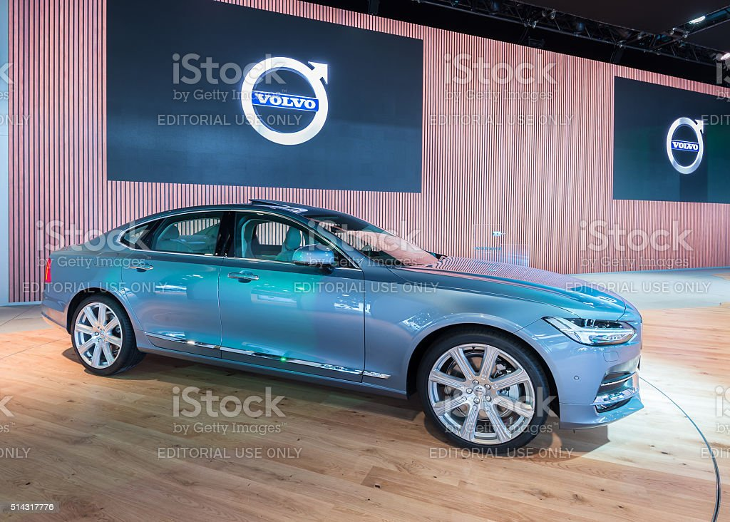 2017 Volvo S90 stock photo