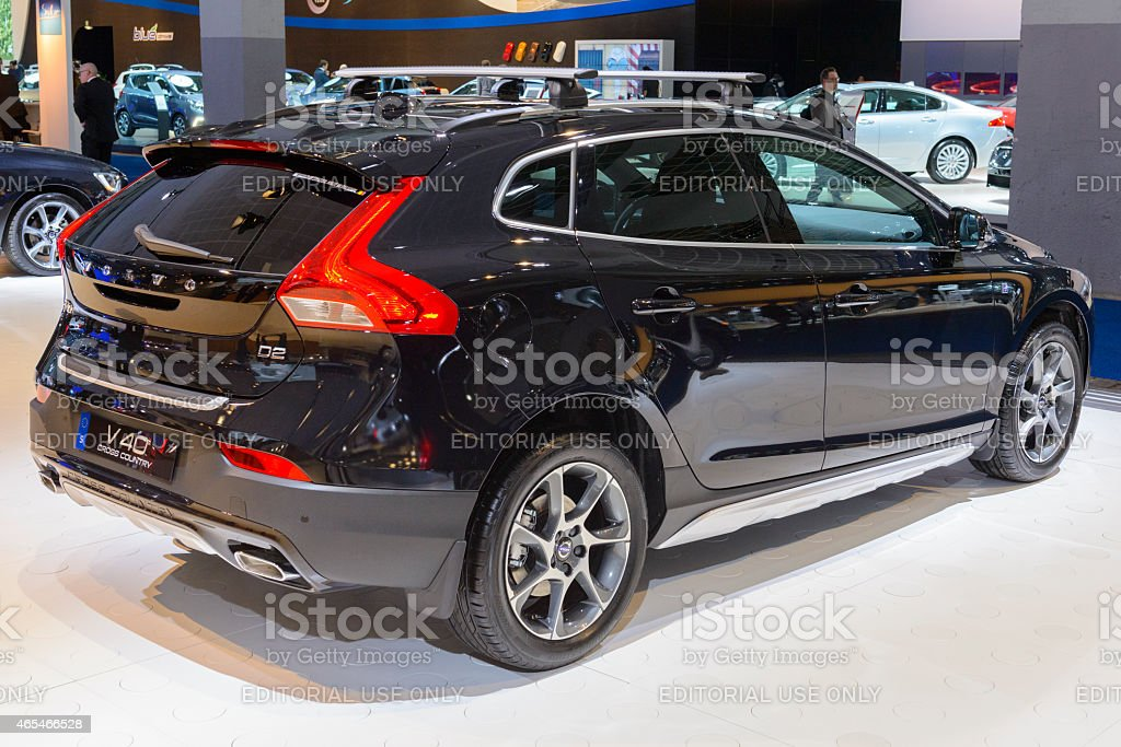 Volvo V40 hatchback car stock photo