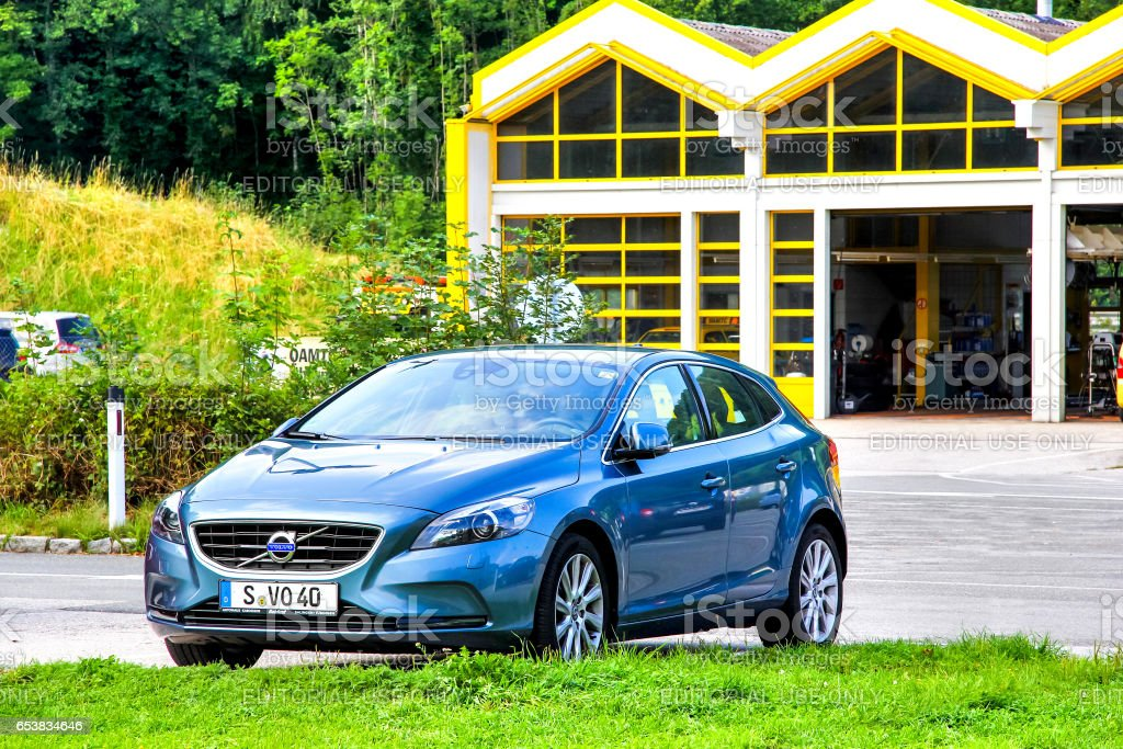 Volvo V40 stock photo