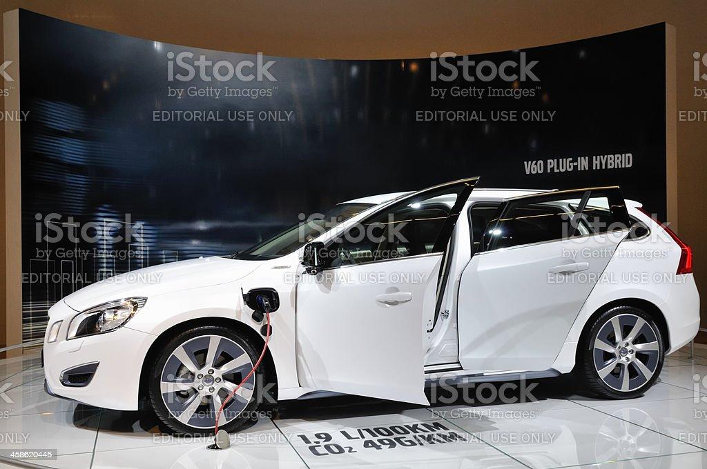 Volvo V60 Hybrid royalty-free stock photo