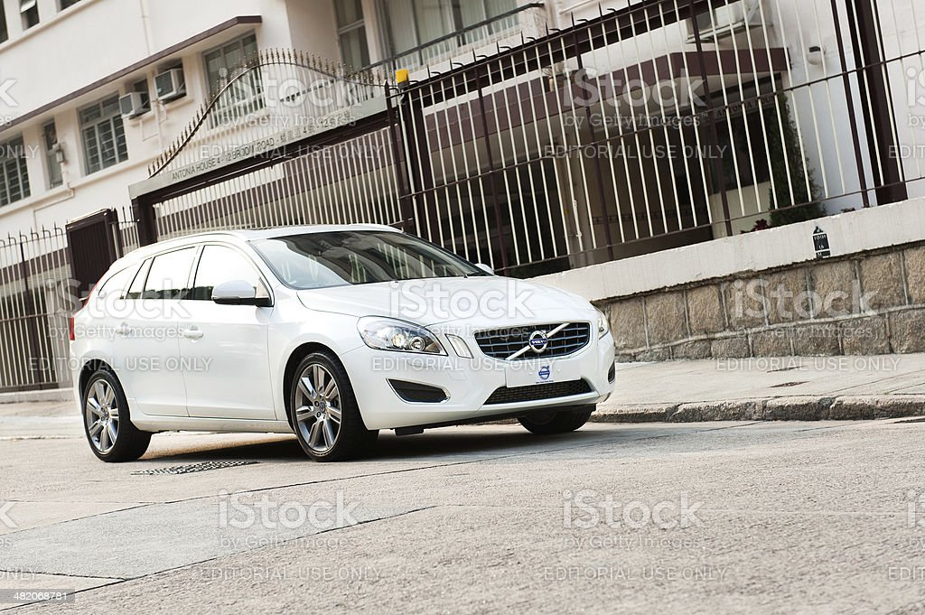 Volvo V60 T5 Wagen stock photo