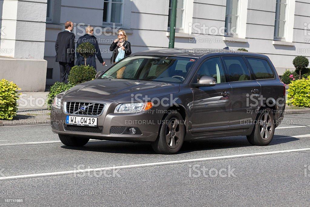 Volvo V70 royalty-free stock photo