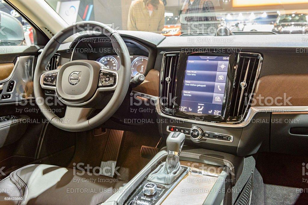 Volvo V90 Luxury Estate Car Interior Stock-Fotografie und mehr ...