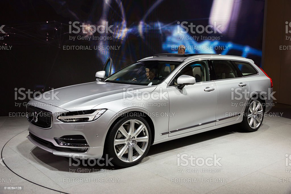 2017 Volvo V90 stock photo