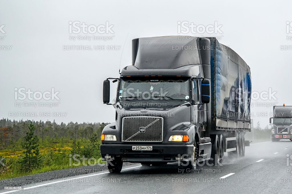 Volvo VNL64T stock photo