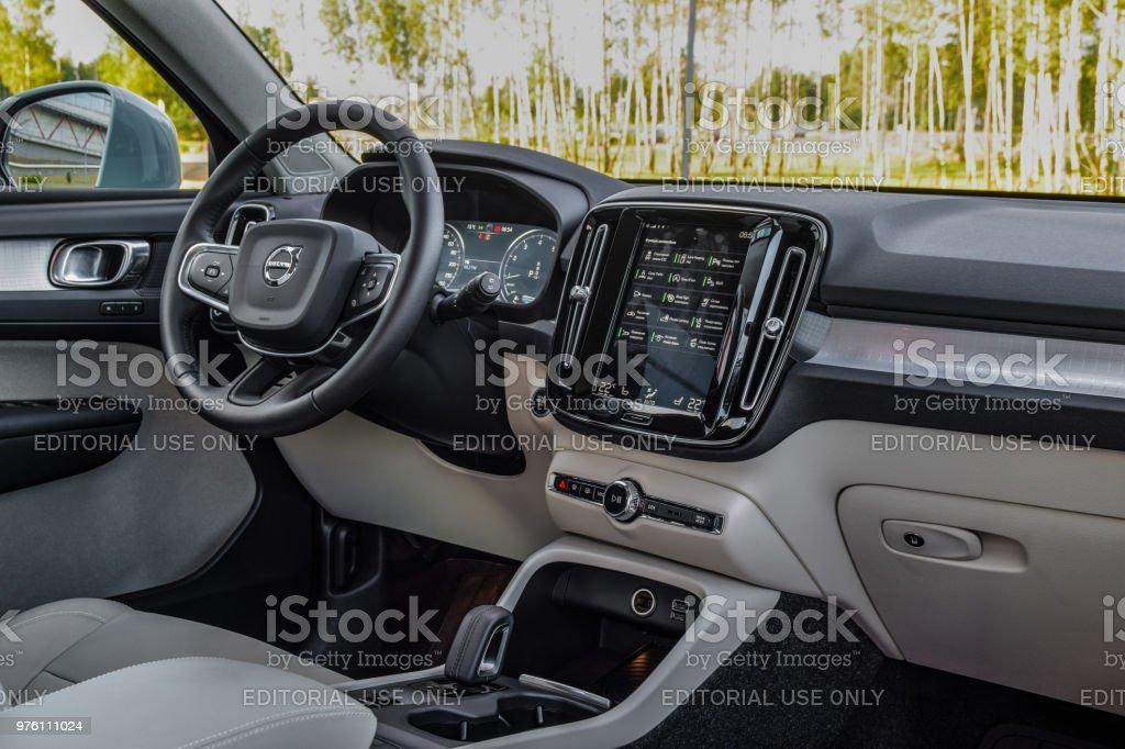 Volvo XC40 stock photo