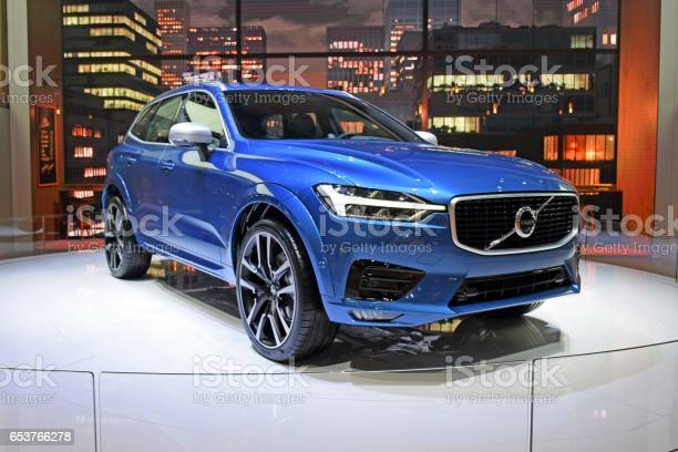 Volvo XC60 on the motor show