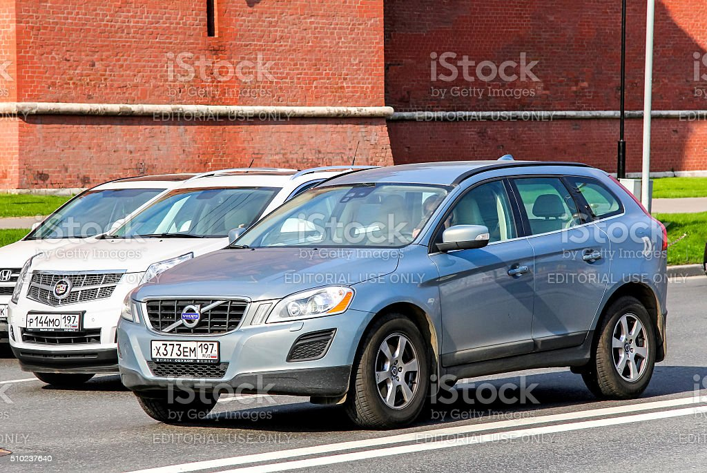 Volvo XC60 stock photo