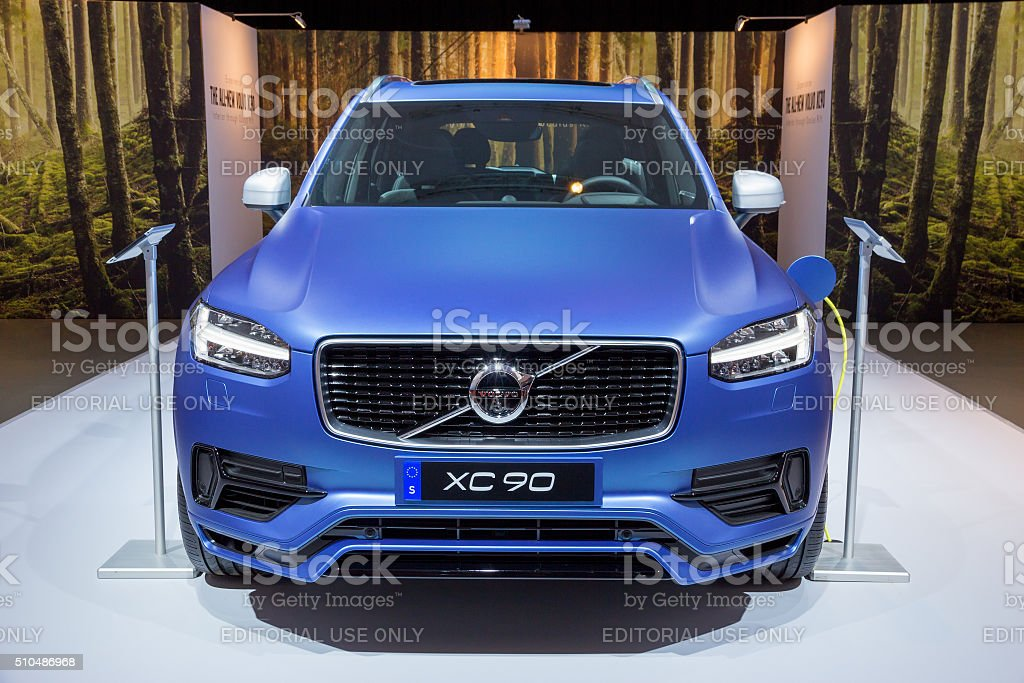 Volvo XC90 stock photo