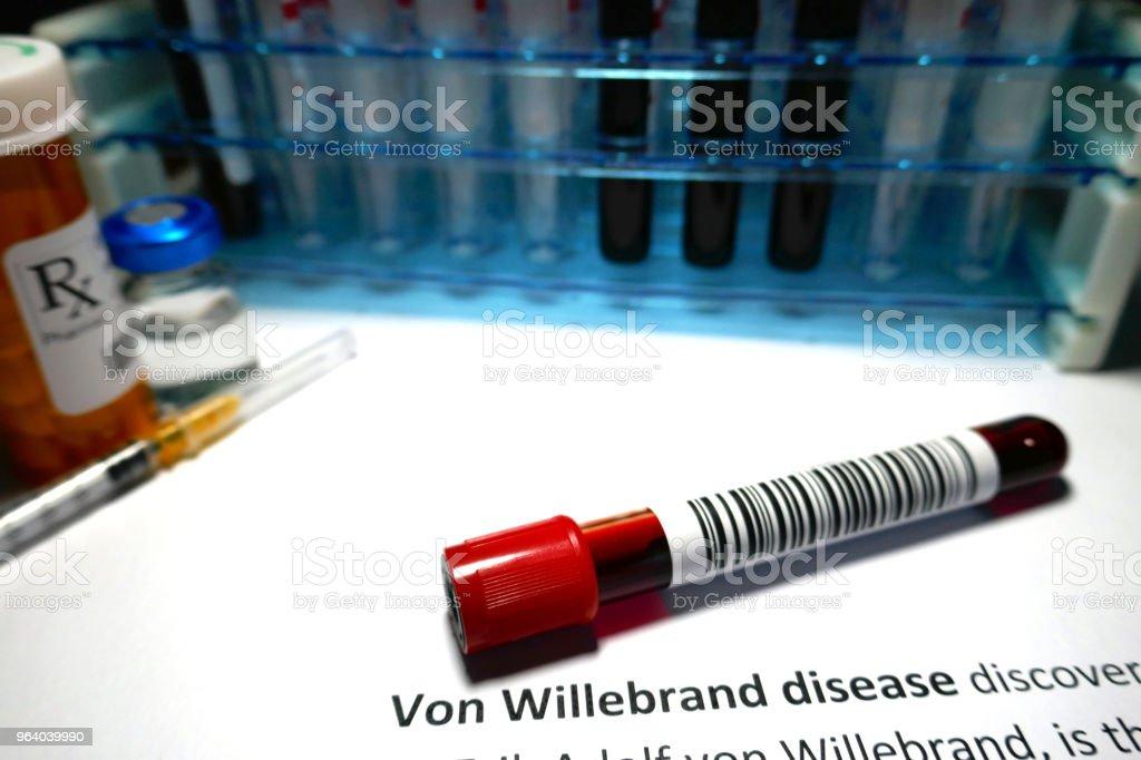 Von Willebrand disease - Royalty-free Analyzing Stock Photo