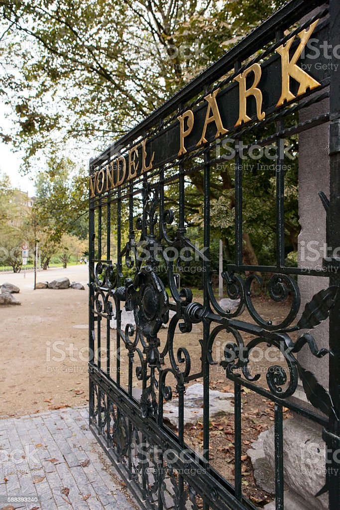Vondel Park stock photo