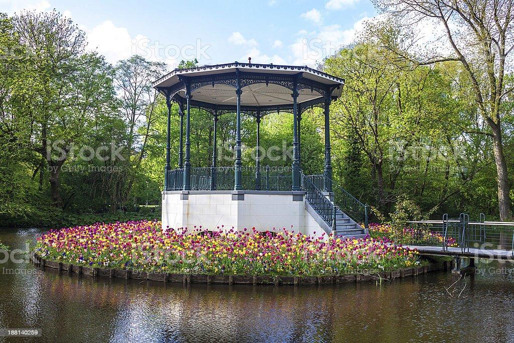 Vondelpark, Amsterdam stock photo