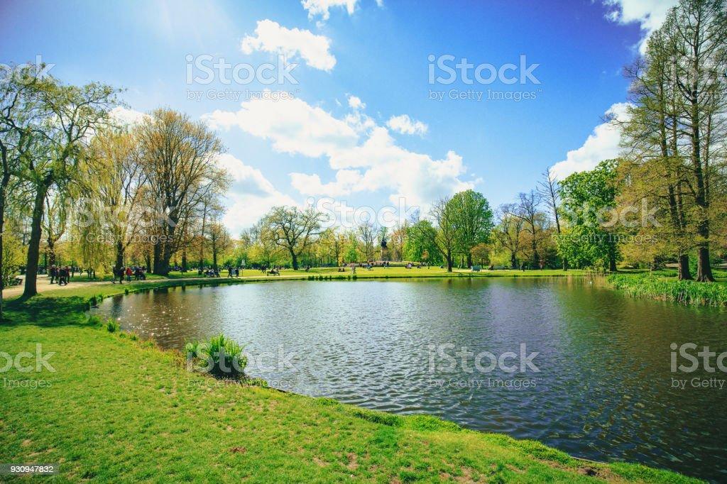 Vondelpark in Amsterdam - Royalty-free Amsterdam Stockfoto