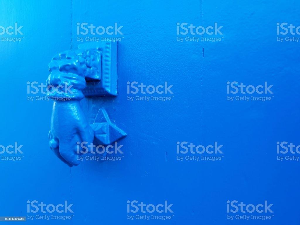 Nock de puerta de tensión - foto de stock