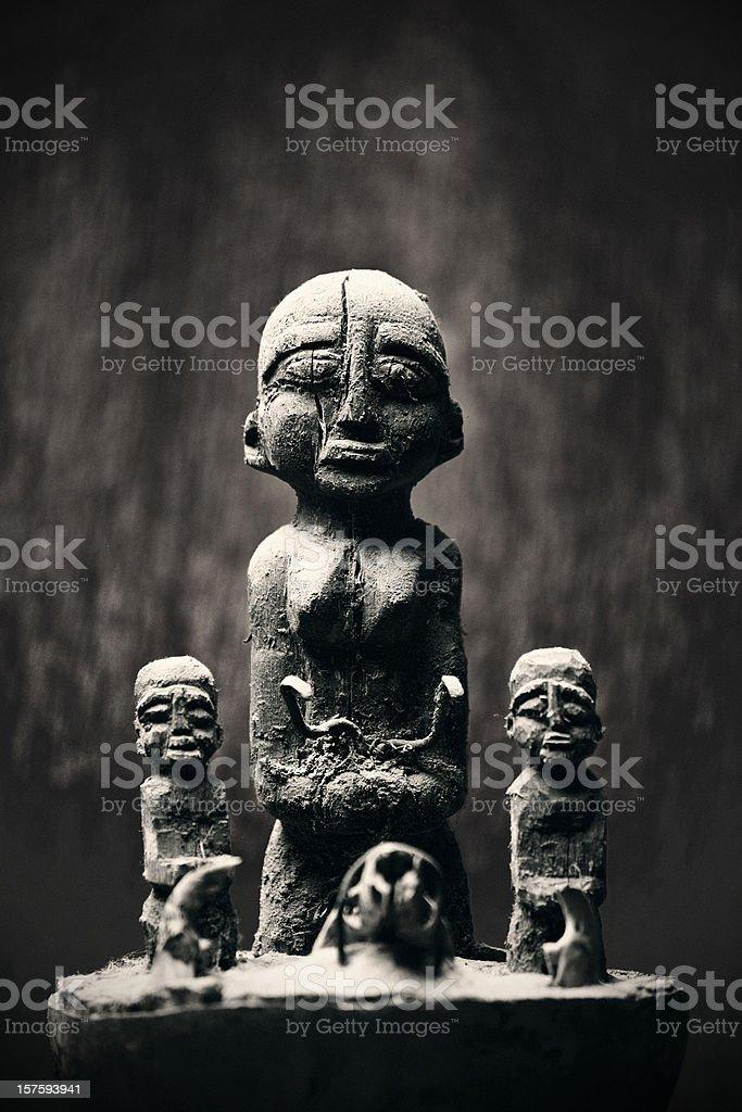 voodoo power royalty-free stock photo