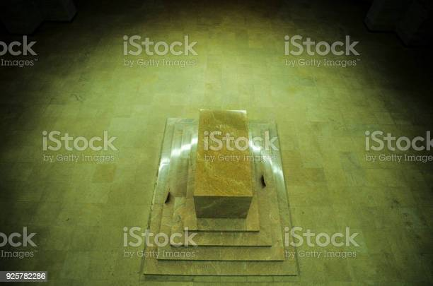 """Cenotaph in the interior of the Voortrekker Monument, built to commemorate the Voortrekkers, Pretoria, South Africa""""n"""