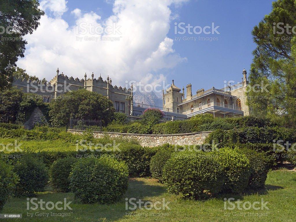 Vorontsov Palace stock photo